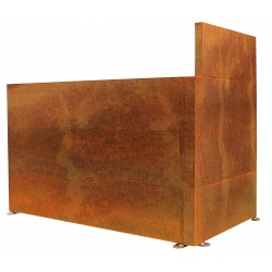 SPACE HORIZONTAL | Corten