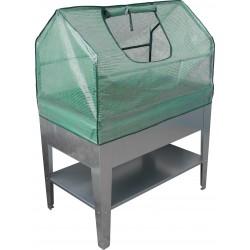 Frühbeet | Mini-Gewächshaus 100 x 60 x 60 cm | Hochbeetaufsatz