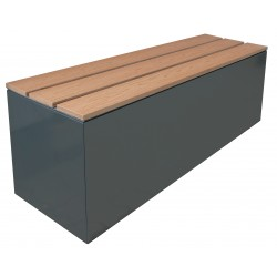 CUBEBOX | Sitzdeckel Metall - WPC