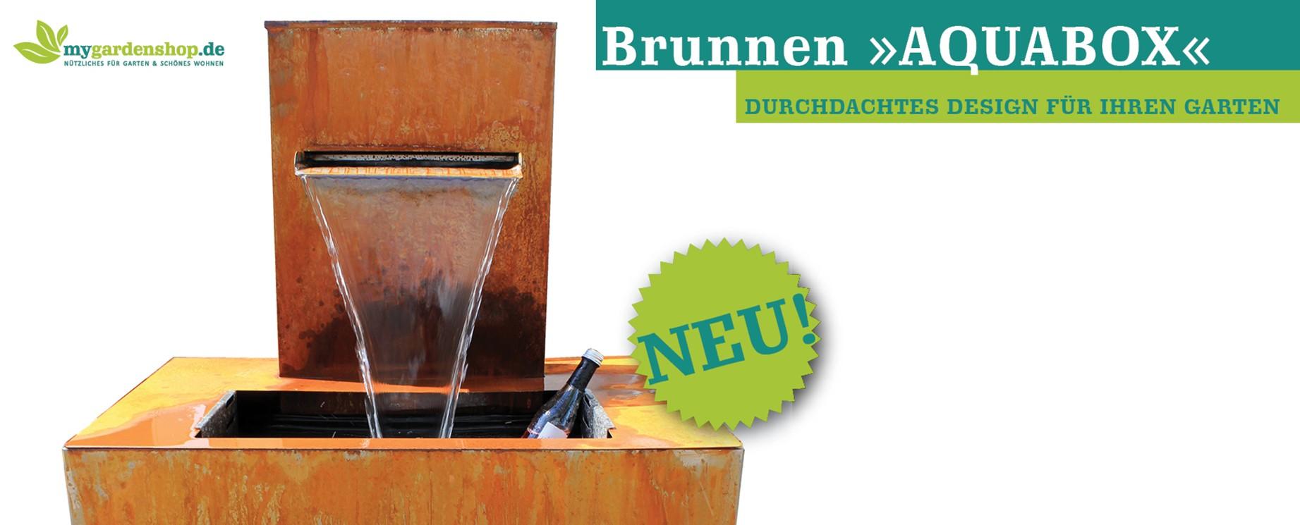 """Erlebnisbrunnen """"AQUABOX"""""""